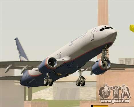 Boeing 737-8LJ Aeroflot - Russian Airlines pour GTA San Andreas vue de droite