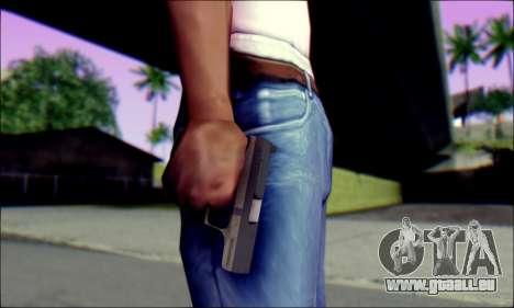 Walther P99 Bump Mapping v1 für GTA San Andreas dritten Screenshot