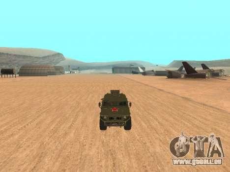 GAZ 2975 pour GTA San Andreas vue de droite