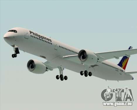 Airbus A350-900 Philippine Airlines für GTA San Andreas rechten Ansicht