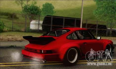 Porsche 930 Turbo Look 1985 Tunable pour GTA San Andreas vue de côté