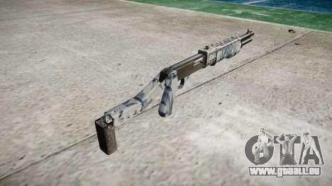 Ружье Franchi SPAS-12 Crânes pour GTA 4 secondes d'écran
