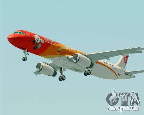 Airbus A321-200 Air China (Beautiful Sichuan) für GTA San Andreas Räder