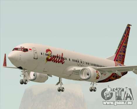 Boeing 737-800 Batik Air pour GTA San Andreas