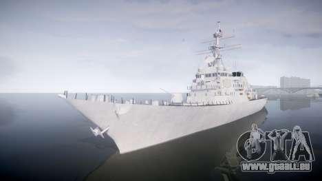 US Navy Destroyer Arleigh Burke für GTA 4