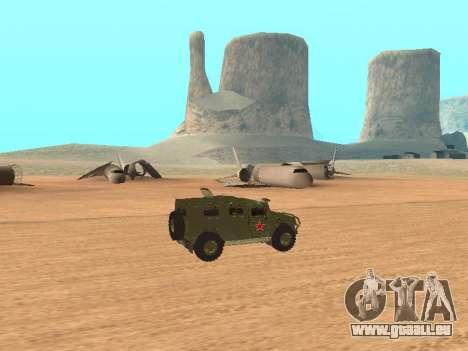 GAZ 2975 pour GTA San Andreas laissé vue