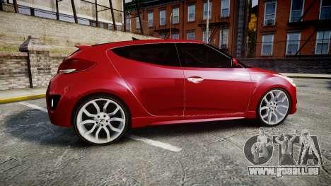 Hyundai Veloster Turbo 2012 pour GTA 4 est une gauche