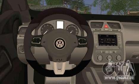 Volkswagen Scirocco 2011 für GTA San Andreas zurück linke Ansicht