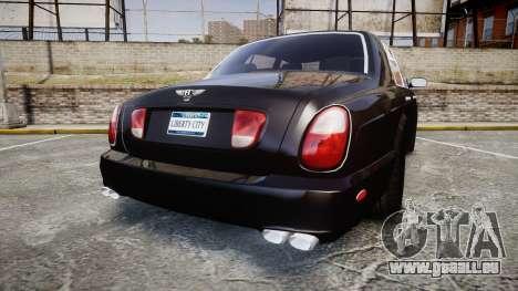 Bentley Arnage T 2005 Rims2 Chrome für GTA 4 hinten links Ansicht