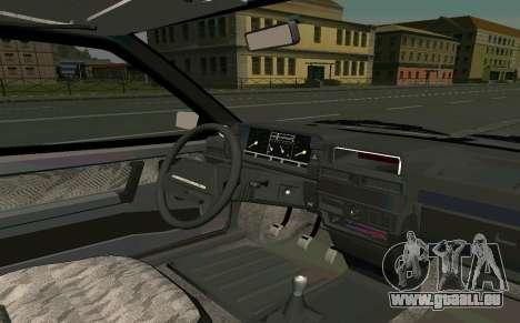 VAZ 2108 Turbo-ZUCKER für GTA San Andreas rechten Ansicht