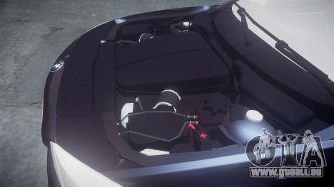 BMW 530d F11 Unmarked Police [ELS] für GTA 4 Seitenansicht