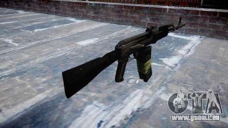 Kalachnikov 101 pour GTA 4 secondes d'écran