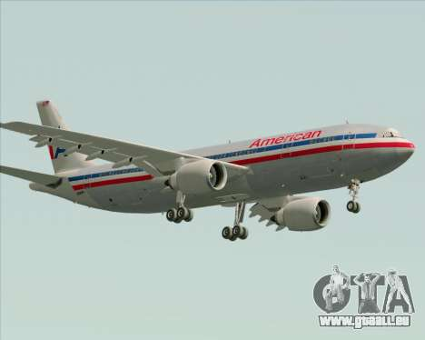 Airbus A300-600 American Airlines pour GTA San Andreas salon