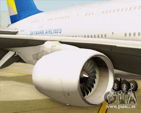 Airbus A380-800 Skymark Airlines pour GTA San Andreas