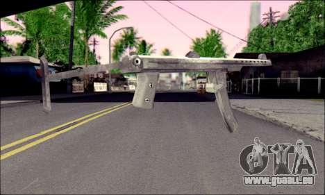 Pistolet Sudeva pour GTA San Andreas deuxième écran