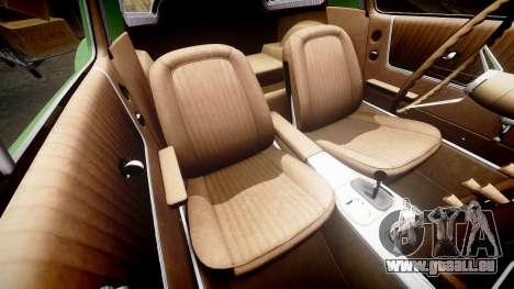 Chevrolet Corvette Stingray 1963 v2.0 pour GTA 4 est un côté