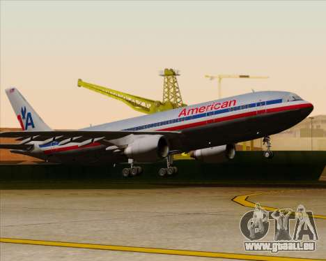 Airbus A300-600 American Airlines pour GTA San Andreas