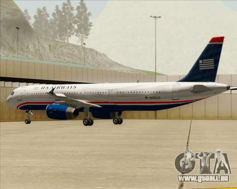 Airbus A321-200 US Airways für GTA San Andreas