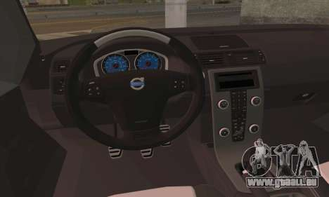 Volvo XC70 K9 Politie pour GTA San Andreas sur la vue arrière gauche