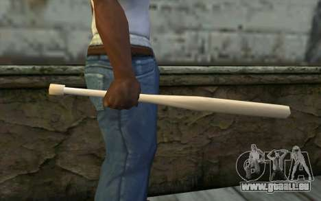 Baseball Bat from Cutscene für GTA San Andreas dritten Screenshot