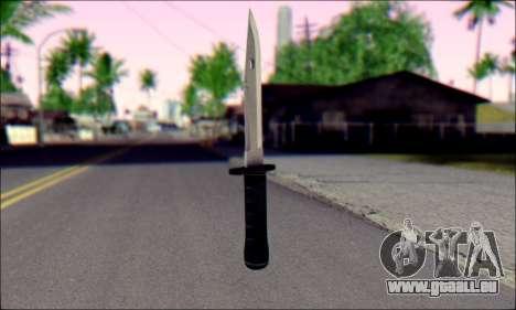 Knife from Death to Spies 3 für GTA San Andreas zweiten Screenshot