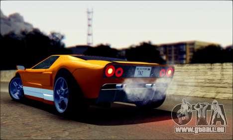 Vapid Bullet GTA 5 pour GTA San Andreas laissé vue