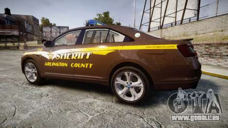 Ford Taurus Sheriff [ELS] Virginia für GTA 4 linke Ansicht
