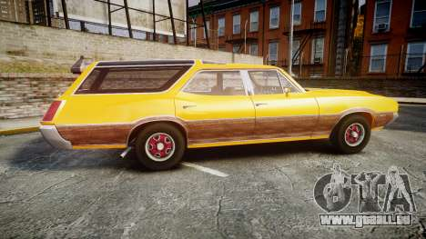 Oldsmobile Vista Cruiser 1972 Rims2 Tree3 pour GTA 4 est une gauche
