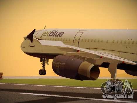 Airbus A321-232 jetBlue Batty Blue pour GTA San Andreas