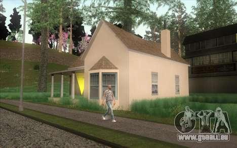 Nouveau CJ maison à Angel Pine pour GTA San Andreas quatrième écran