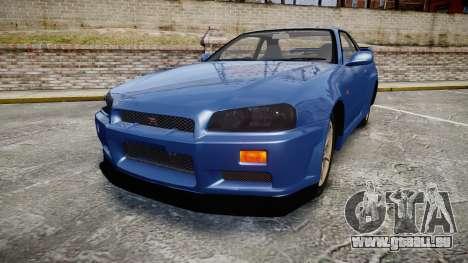 Nissan Skyline R-34 V-spec pour GTA 4