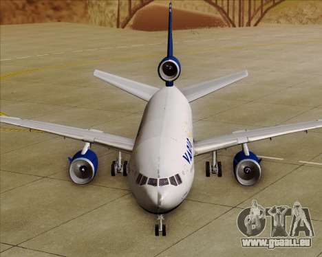 McDonnell Douglas DC-10-30 VARIG für GTA San Andreas Unteransicht