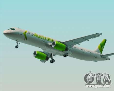 Airbus A321-200 Air Australia pour GTA San Andreas roue