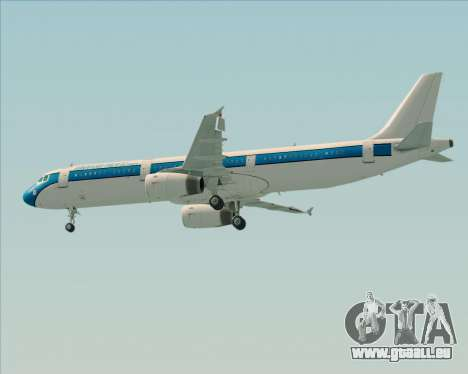 Airbus A321-200 American Pacific Airways pour GTA San Andreas moteur