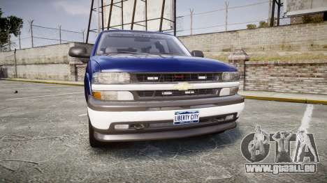 Chevrolet Suburban Undercover 2003 Grey Rims pour GTA 4