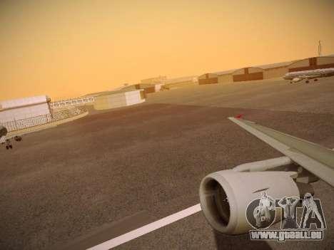 Airbus A320-214 Aeroflot Retrojet für GTA San Andreas Räder