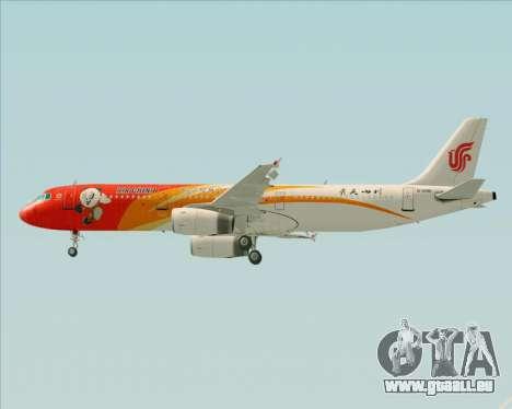 Airbus A321-200 Air China (Beautiful Sichuan) für GTA San Andreas Motor