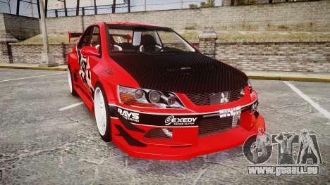Mitsubishi Lancer Evolution IX Fast and Furious pour GTA 4