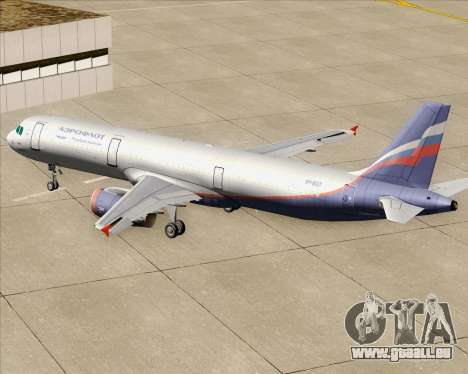 Airbus A321-200 Aeroflot - Russian Airlines pour GTA San Andreas