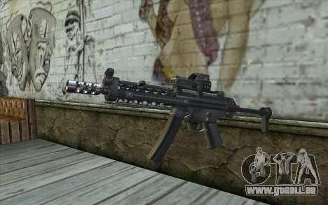 Silver MP5 pour GTA San Andreas