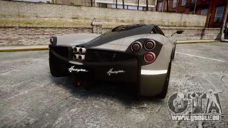 Pagani Huayra 2013 Carbon für GTA 4 hinten links Ansicht