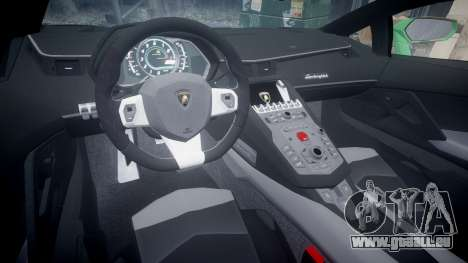 Lamborghini Aventador LP760-4 Camo Edition pour GTA 4 Vue arrière