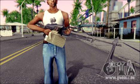 Panneau de contrôle Pecheneg (ArmA 2) pour GTA San Andreas troisième écran