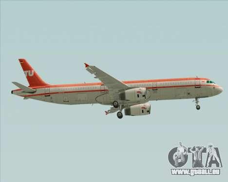 Airbus A321-200 LTU International pour GTA San Andreas roue