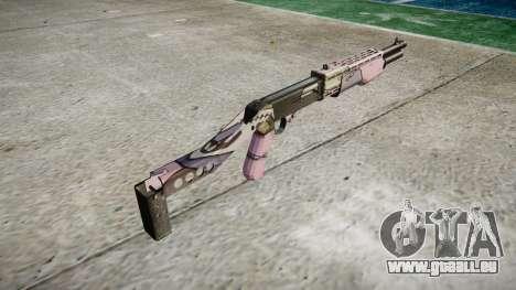 Ружье Franchi SPAS-12 Kawaii pour GTA 4 secondes d'écran