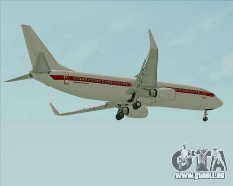 Boeing 737-800 EG&G - Janet für GTA San Andreas Räder