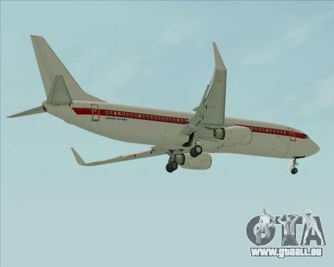 Boeing 737-800 EG&G - Janet pour GTA San Andreas roue