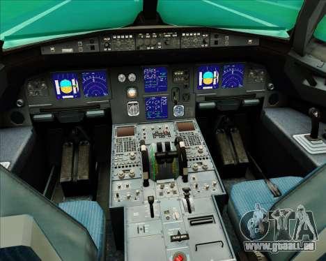 Airbus A321-200 Aer Lingus für GTA San Andreas Innen
