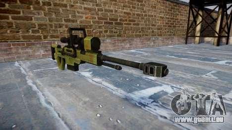 Groß-Kaliber-Scharfschützengewehr für GTA 4
