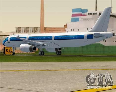 Airbus A321-200 American Pacific Airways für GTA San Andreas rechten Ansicht